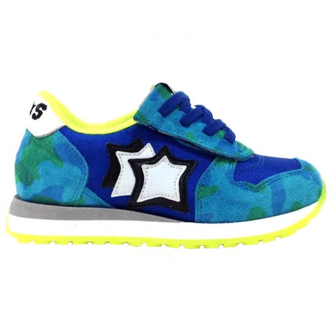 Sneakers Atlantic Stars Aquarius Garçon camouflage