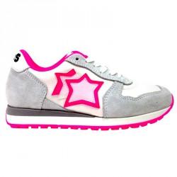 Sneakers Atlantic Stars Mercury Niña blanco