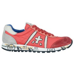 Sneakers Premiata Lucy Mujer coral