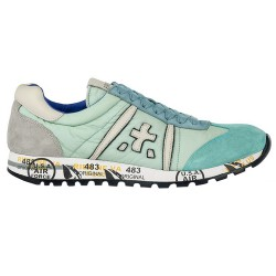 Sneakers Premiata Lucy Woman teal