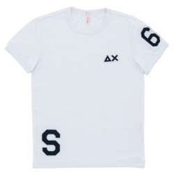 T-shirt Sun68 Patch Sport Junior white (8-10 years)