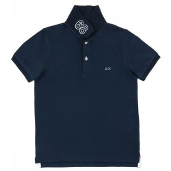 Polo Sun68 El. 68 Solid Junior navy (2-6 years)