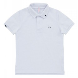 Polo Sun68 Vintage Solid Junior white (2-6 years)