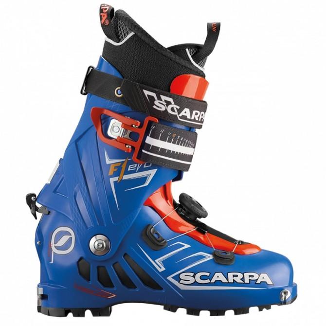 Scarponi sci alpinismo Scarpa F1 Evo blu