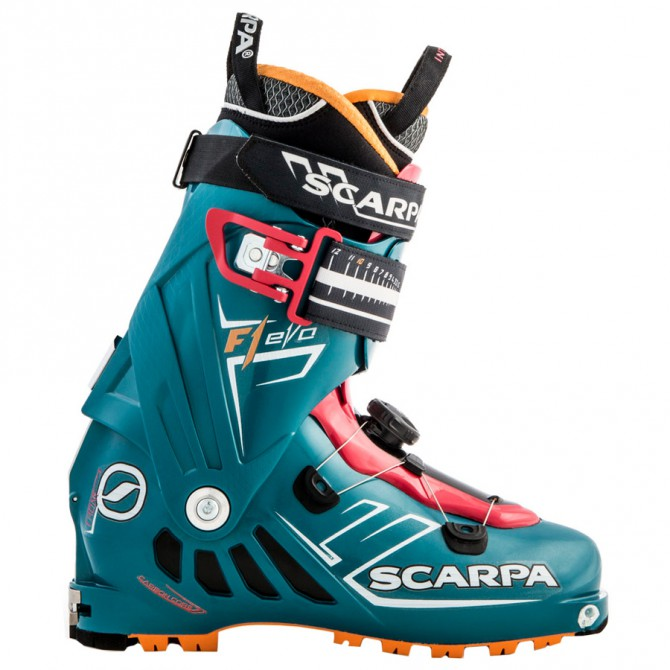 Chaussures ski alpinisme Scarpa F1 Evo Femme