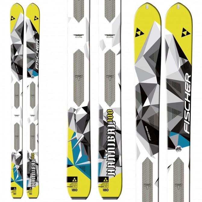 Mountaineering ski Fischer Hannibal 100