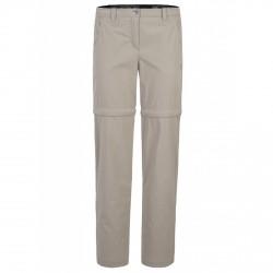 Pantalones Montura Travel Zip Off 2 Mujer beige