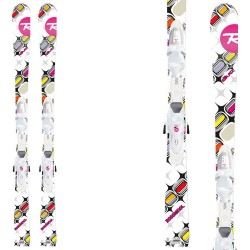 ski Rossignol Diva Kid-X + bindings Kid-X 45 B76