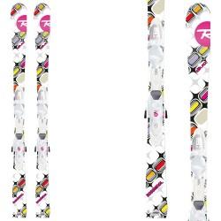 ski Rossignol Diva Kid-X + fixations Kid-X 45 B76