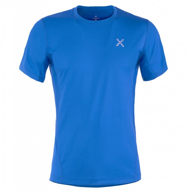 T-shirt Montura Outdoor World Hombre royal