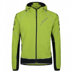 Jacket Montura Run Flash Man acid green