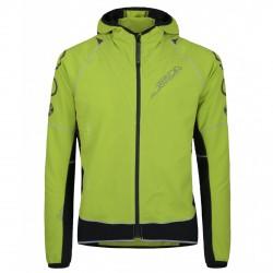 Jacket Montura Run Flash Man acid green