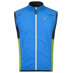 Trail running vest Montura Run Sky Man light blue