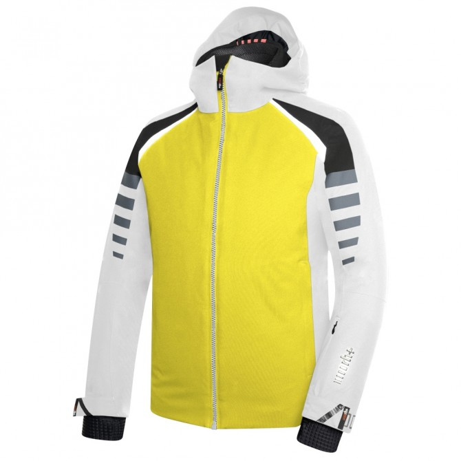 Manteau ski homme jaune