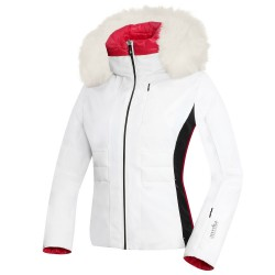Ski jacket Zero Rh+ Sunrise Style Woman white