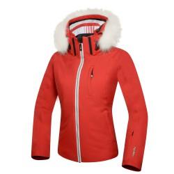 Chaqueta esquí Zero Rh+ Pw Ice Mujer rojo
