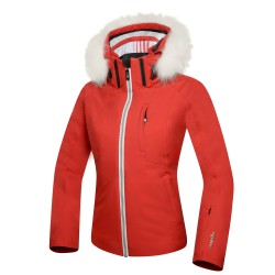 Ski jacket Zero Rh+ Pw Ice Woman red