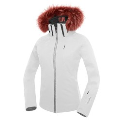 Ski jacket Zero Rh+ Pw Ice Woman white