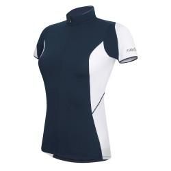 Jersey cyclisme Zero Rh+ Mirage Femme bleu
