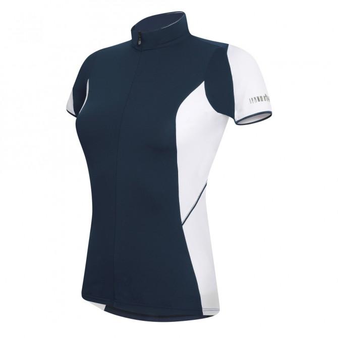 Maglia ciclismo Zero Rh+ Mirage blu-bianco