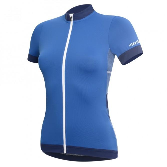 Maglia ciclismo Zero Rh+ Hope petrolio-blu