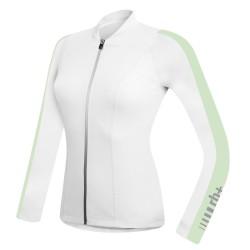 Maglia ciclismo Zero Rh+ Spirit bianco-verde pastello