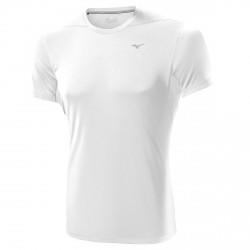 T-shirt Trail Running Mizuno bianco