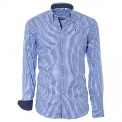 Camicia Canottieri Portofino Uomo celeste-blu