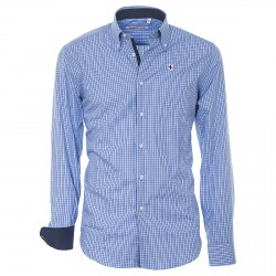 Camisa Canottieri Portofino Hombre azul claro-azul