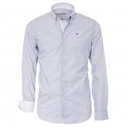 Camisa Canottieri Portofino Hombre gris