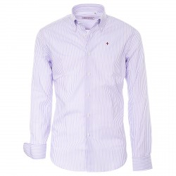 Camisa Canottieri Portofino Hombre violeta