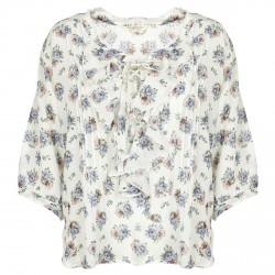 Blouse Denim & Supply Ralph Lauren Floral Ruffled Woman
