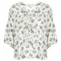 Blusa Denim & Supply Ralph Lauren Floral Ruffled Donna
