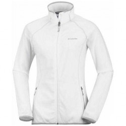 Fleece Columbia Trail Edge Woman white