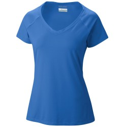 T-shirt Columbia Saturday Trail Woman royal