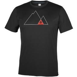 T-shirt Columbia Zero Rules Graphic Uomo nero