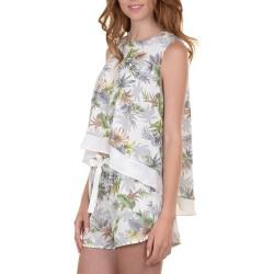 Conjunto Molly Bracken R621E16 top y short Mujer