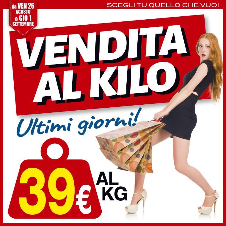 vendita al chilo 39 euro