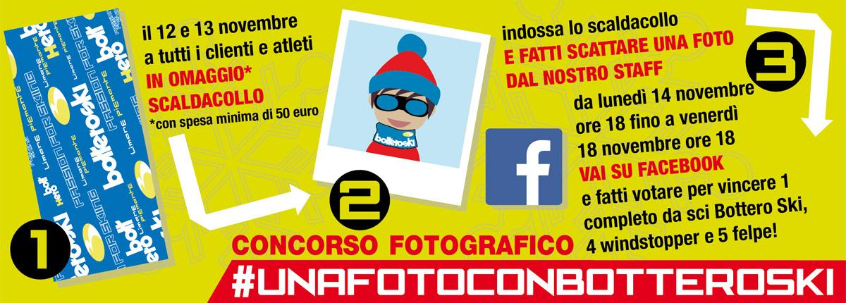 concorso fotografico #UnafotoconBotteroSki