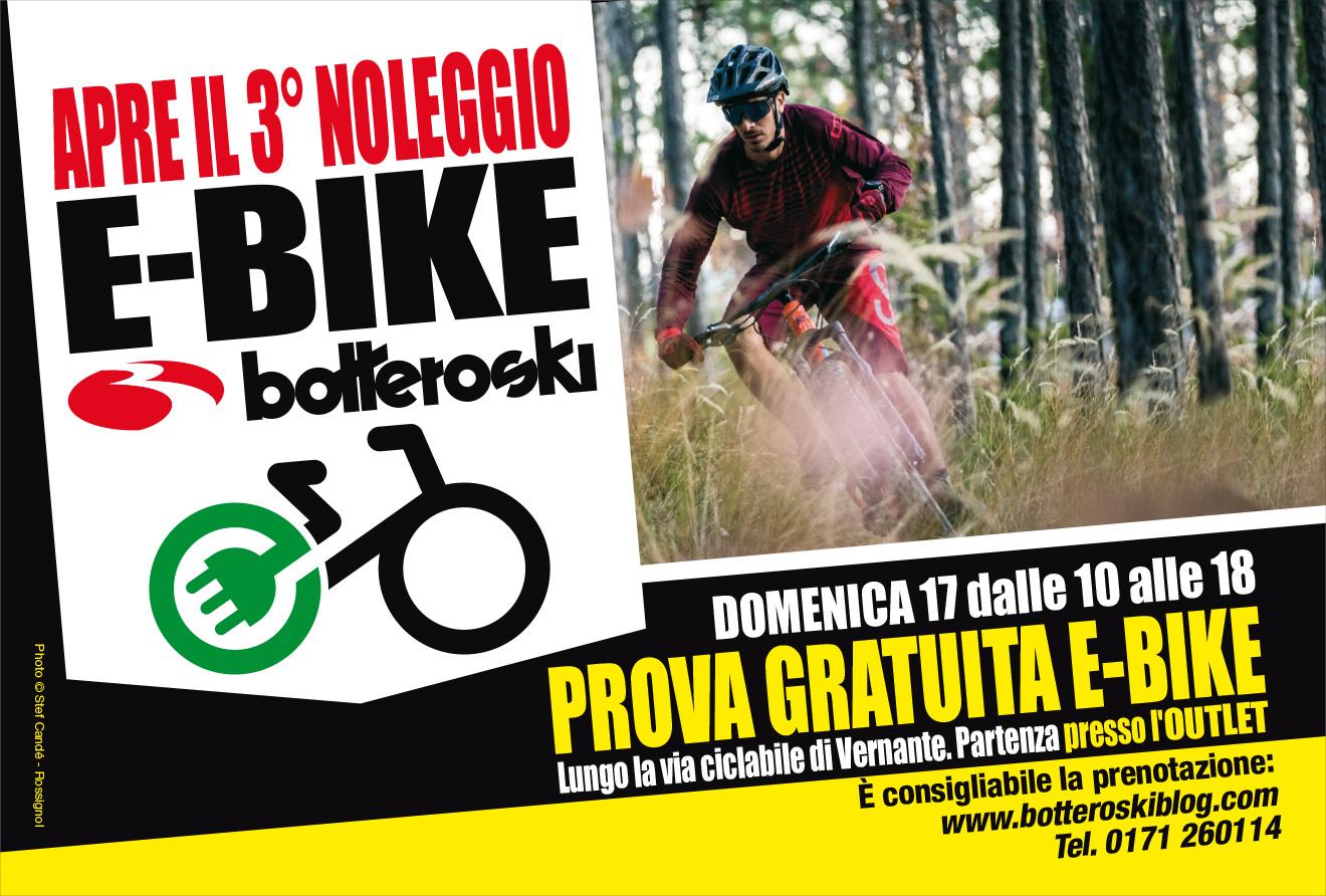 3° noleggio e-bike botteroski