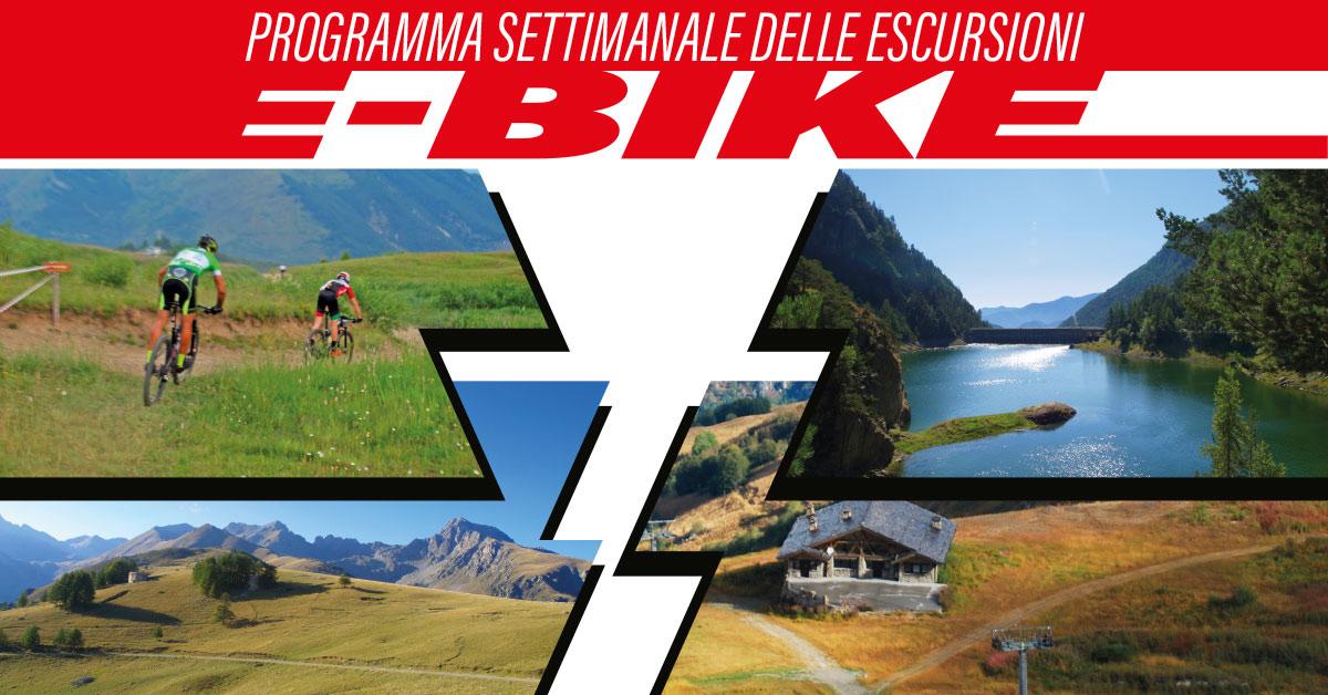 escursioni giornaliere e-bike
