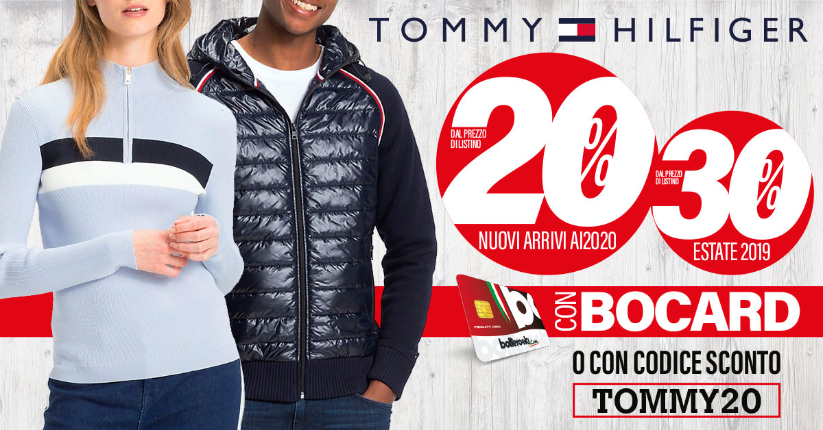 promozione tommy hilfiger - i'm an image