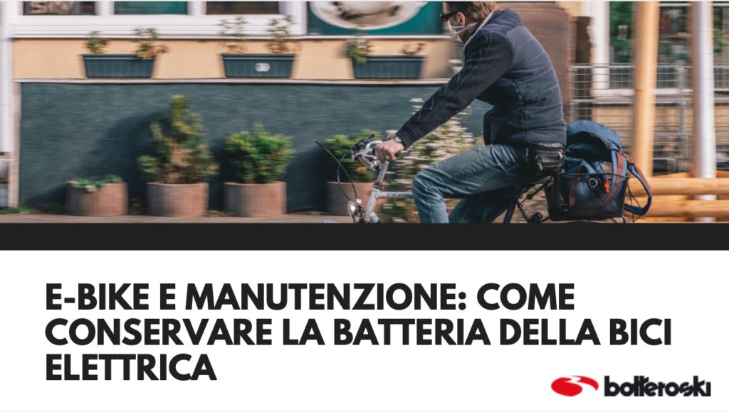 come conservare batteria bici elettrica