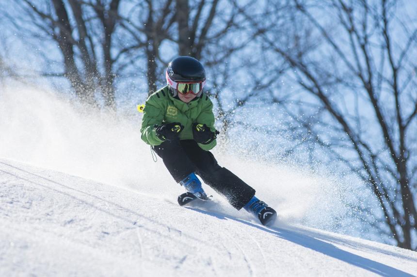età giusta per usare gli sci