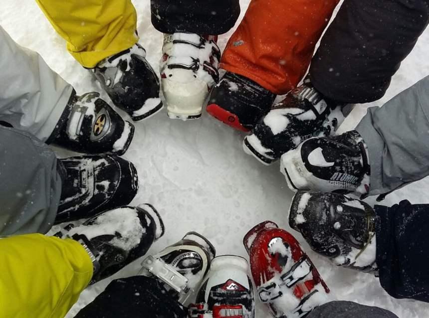 scarponi da sci alpino Professionisti e principianti