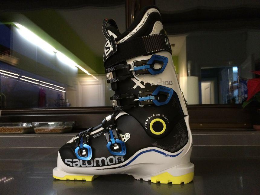 scegliere la taglia degli scarponi da sci