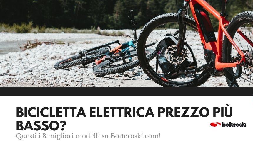 bici elettrica al prezzo piu basso