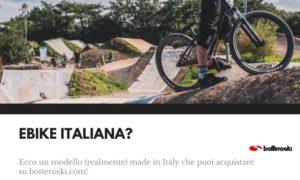 ebike italiana in vendita su botteroski