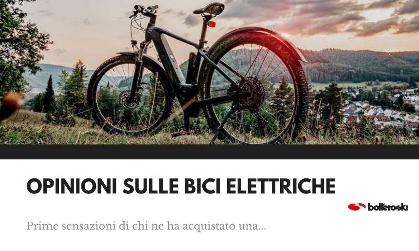 opinioni sulle bici elettriche