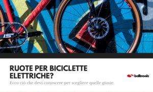 ruote per bici elettriche